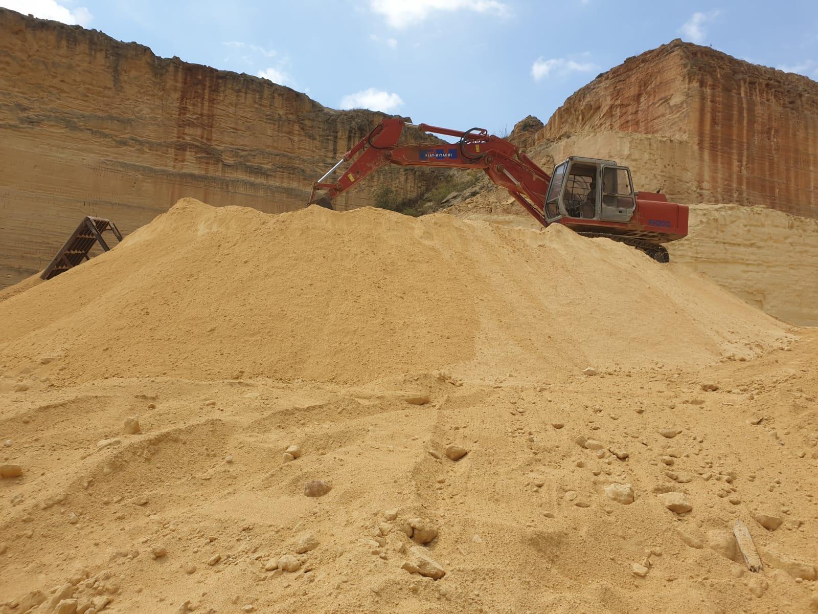 Vendita all'ingrosso tout venant e sabbia di cava ...